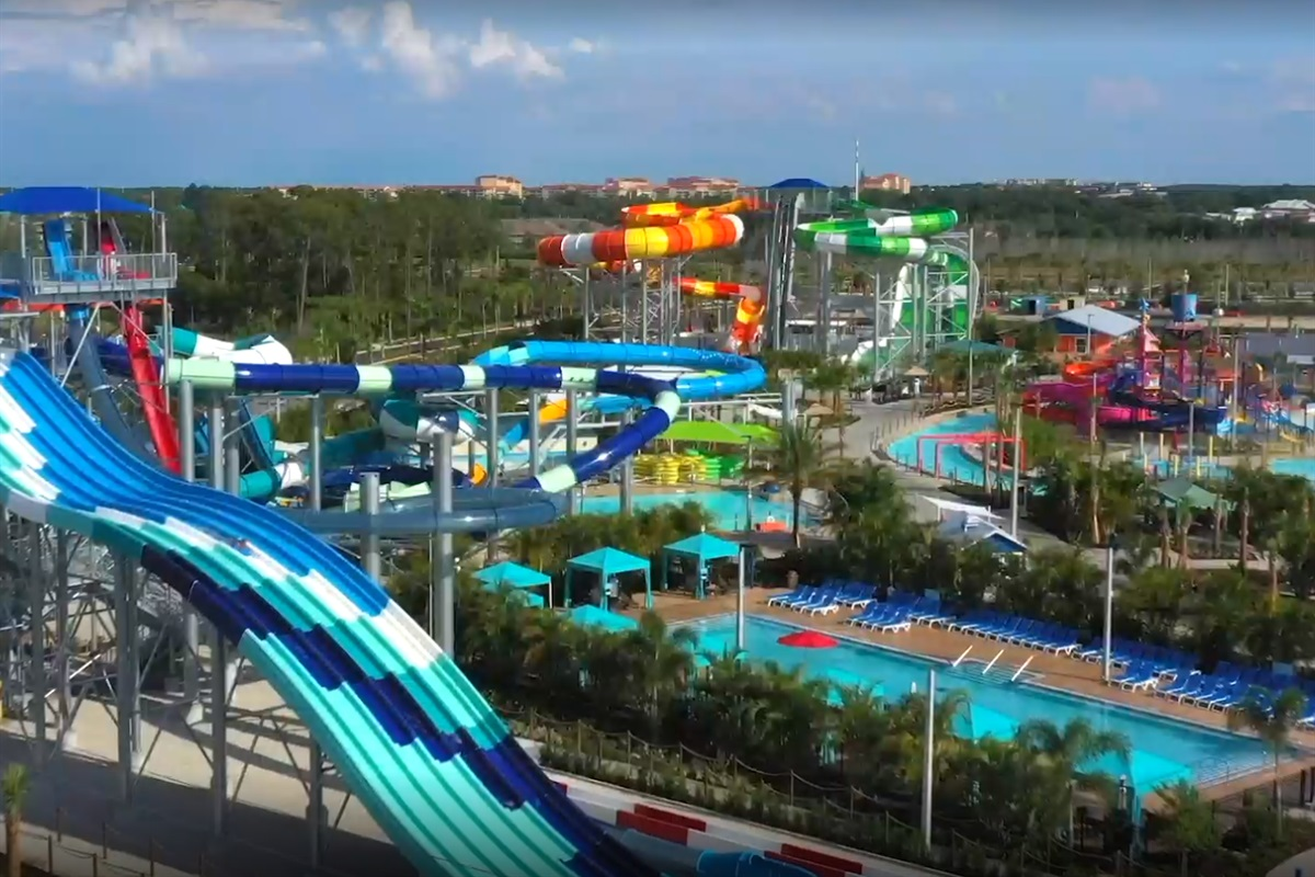 Close to the newest water park in Central Florida