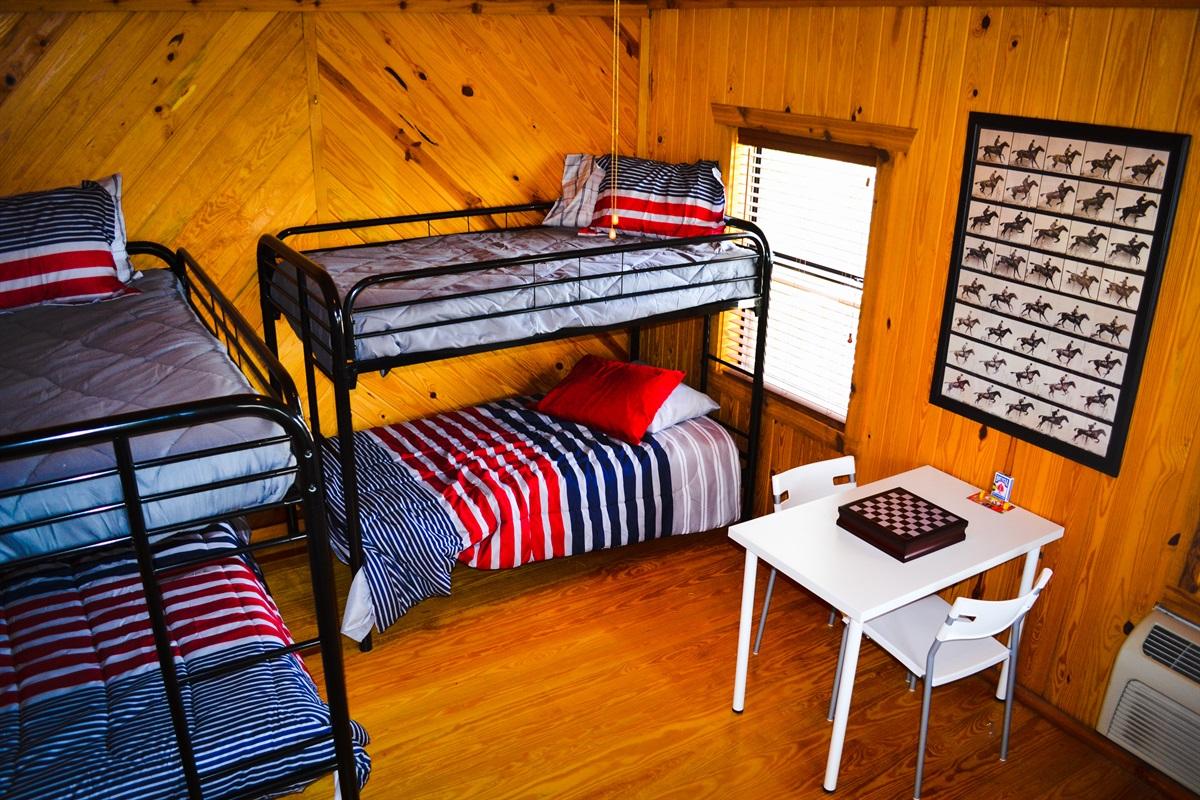 Upper cabin, bedroom #2.