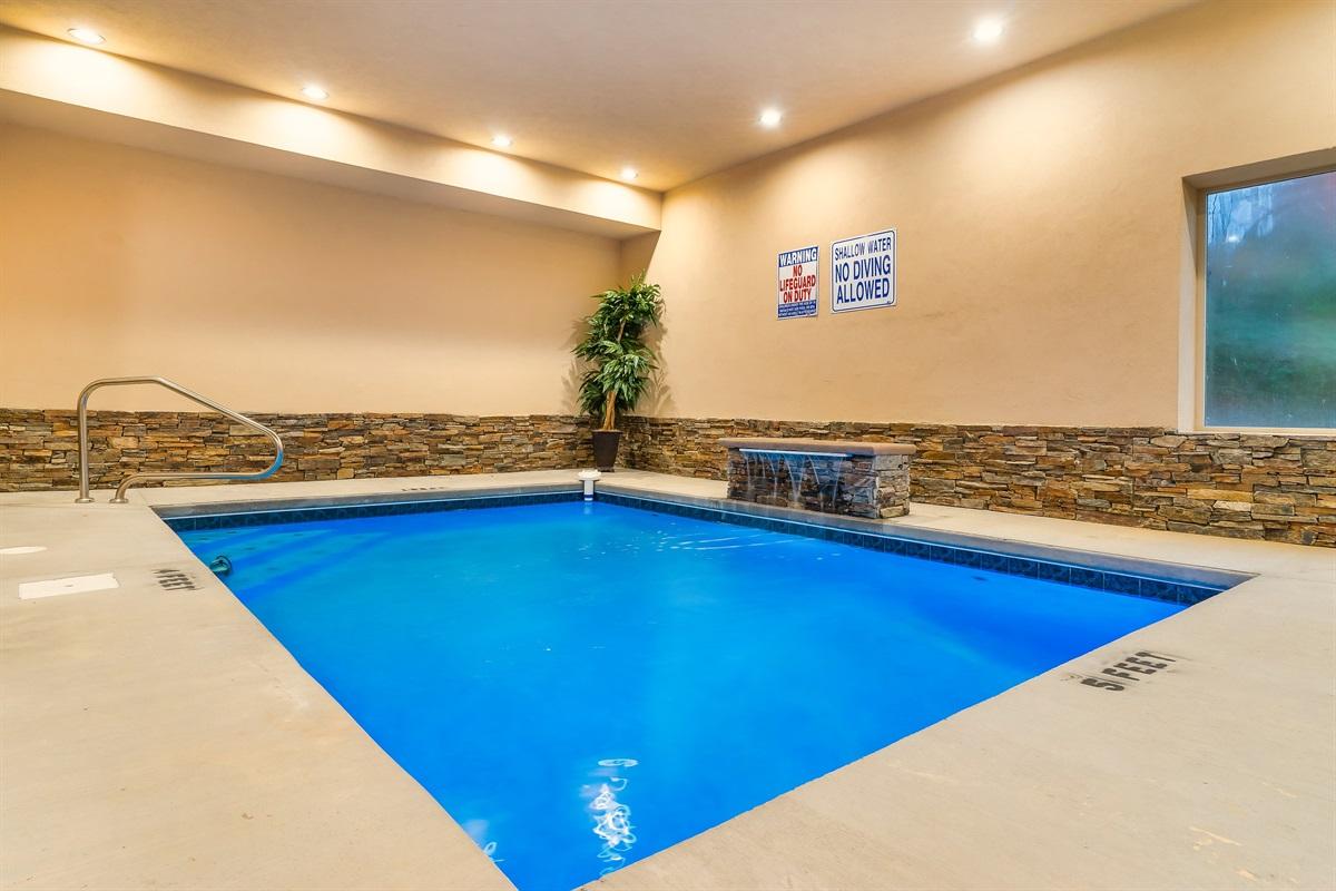 Indoor pool - side view