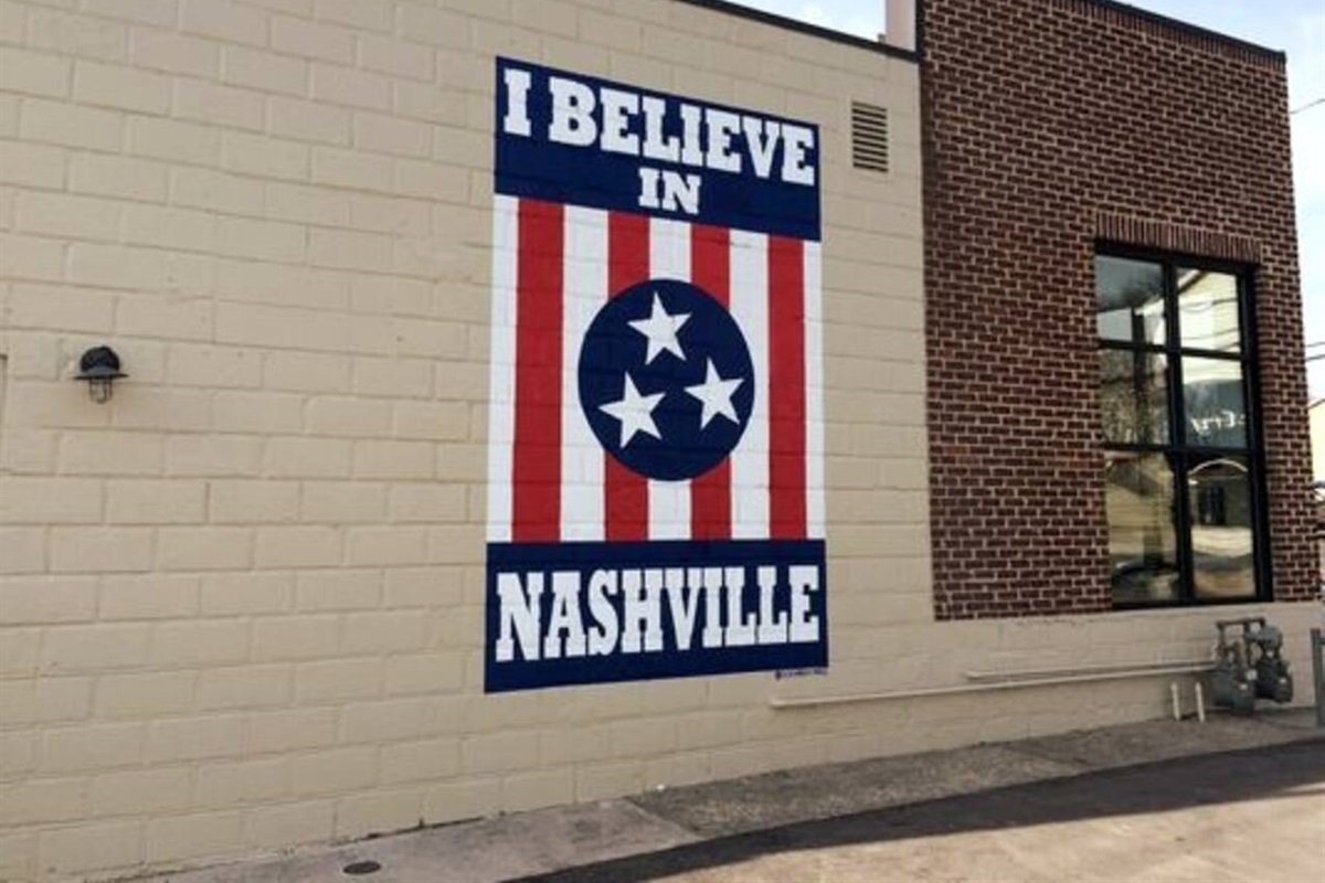 Just a quick uber to 12 South to get your picture with the 'I Believe In Nashville' Sign!