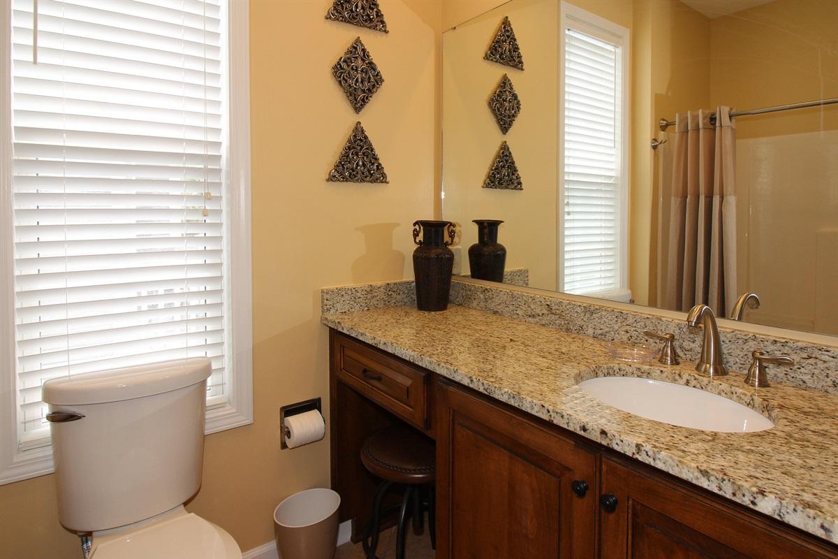 Main Level In-suite Full Bathroom