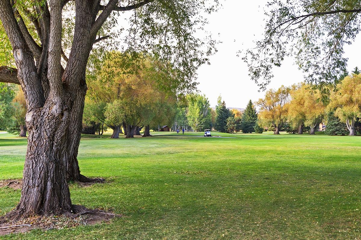Park City Golf Course - across the street!