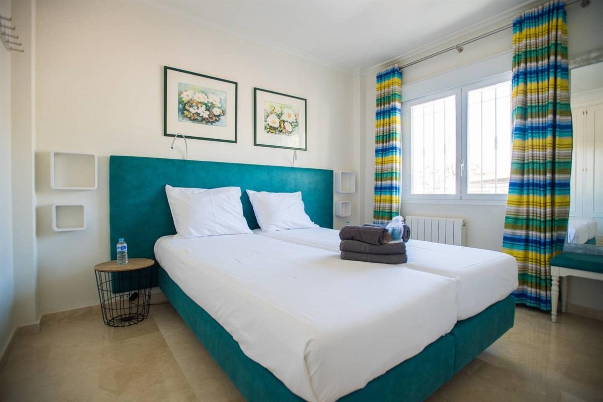 Bedroom 3 in the villa