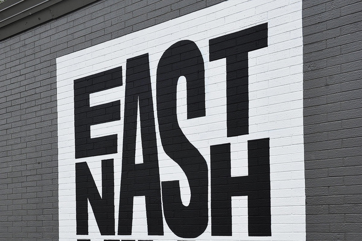 "We are located in one of the trendiest neighborhoods in the city!  East Nashville has dozens of infamous bars/restaurants, a plethora of ""Insta-worthy"" murals...  All within 5 minutes from Bro"