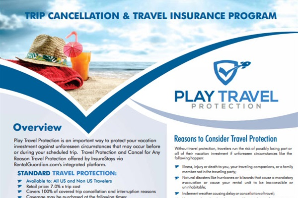 Protect your trip with Travel Insurance from Rental Guardian.