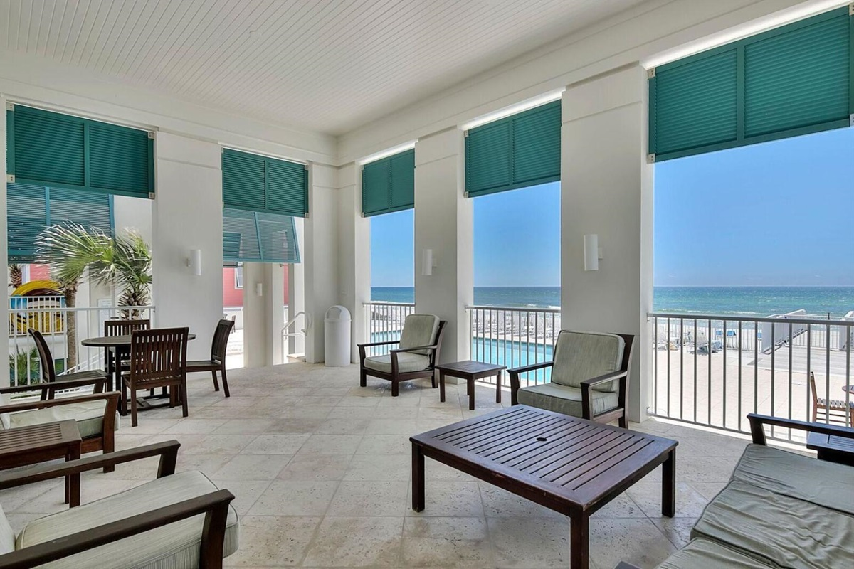 gulf front cabana. perfect for sunsets