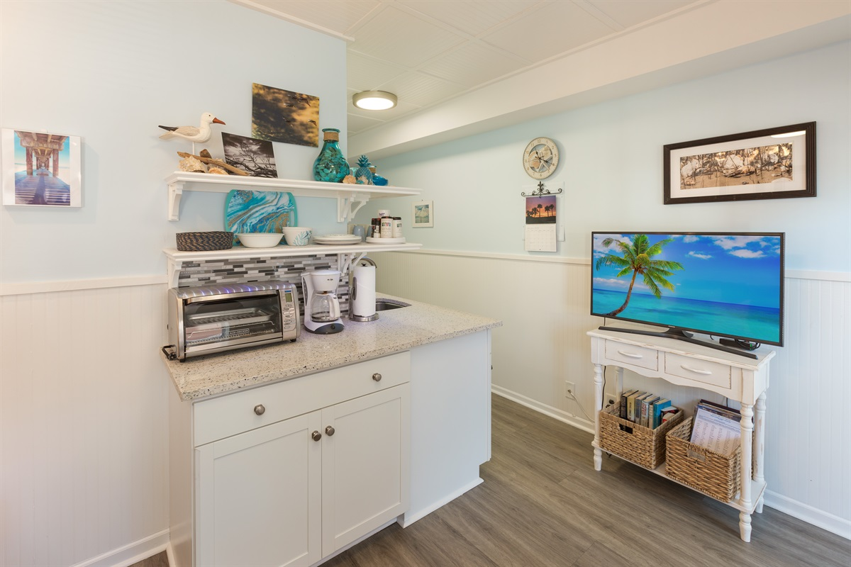 Lots of nice additions in this updated condo