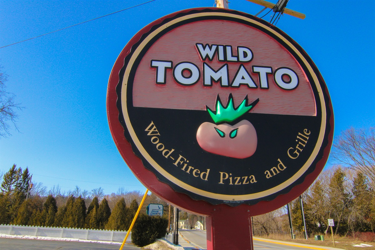 """""""Wild Tomato"""" is within walking distance of our property. This place is famous for their wood-fired pizza."""