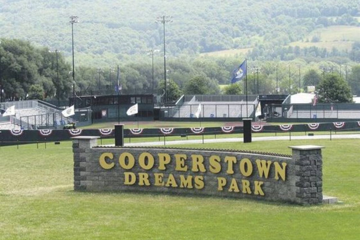 10.5 miles to Cooperstown Dreams Park