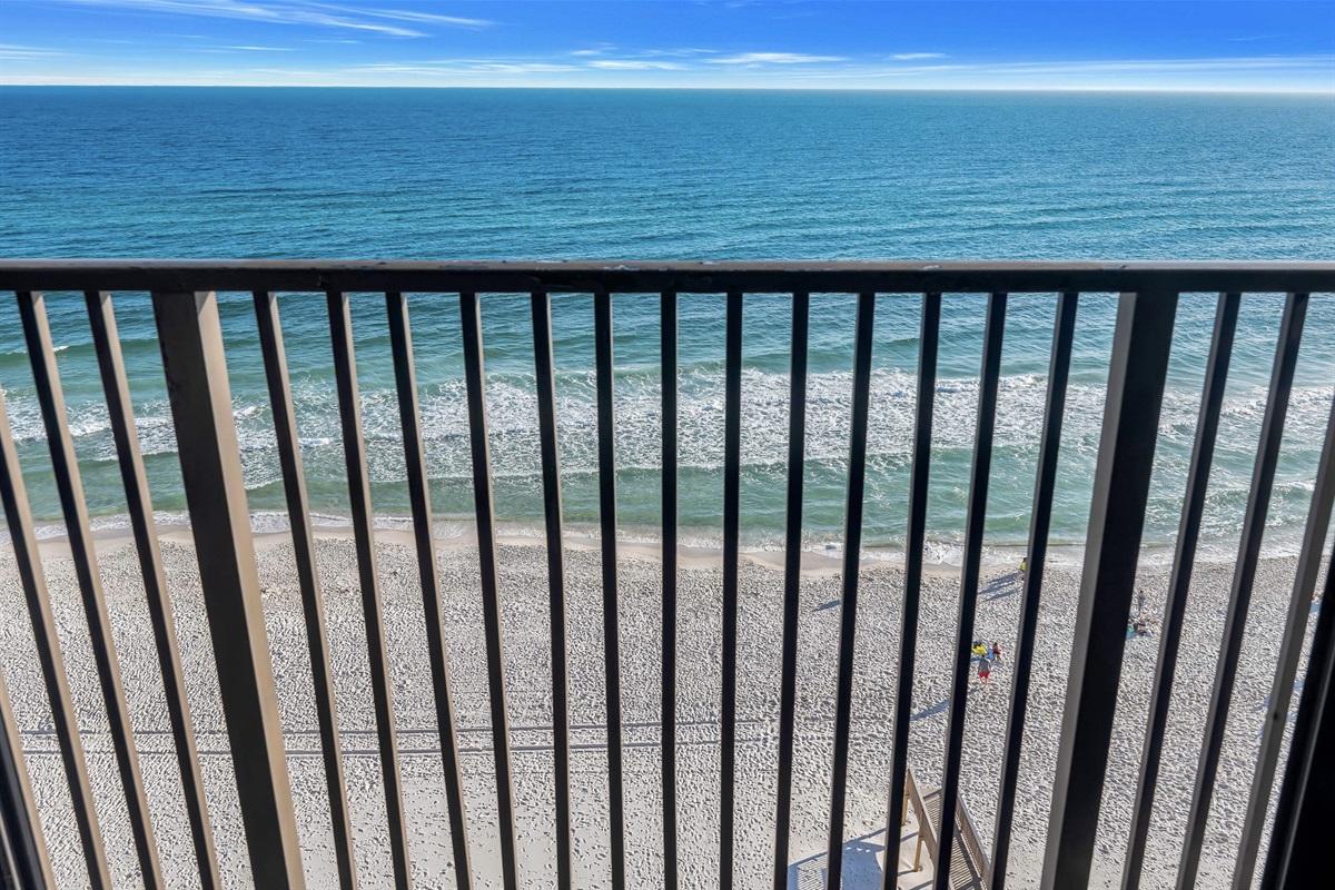 Beach/Gulf View from Balcony