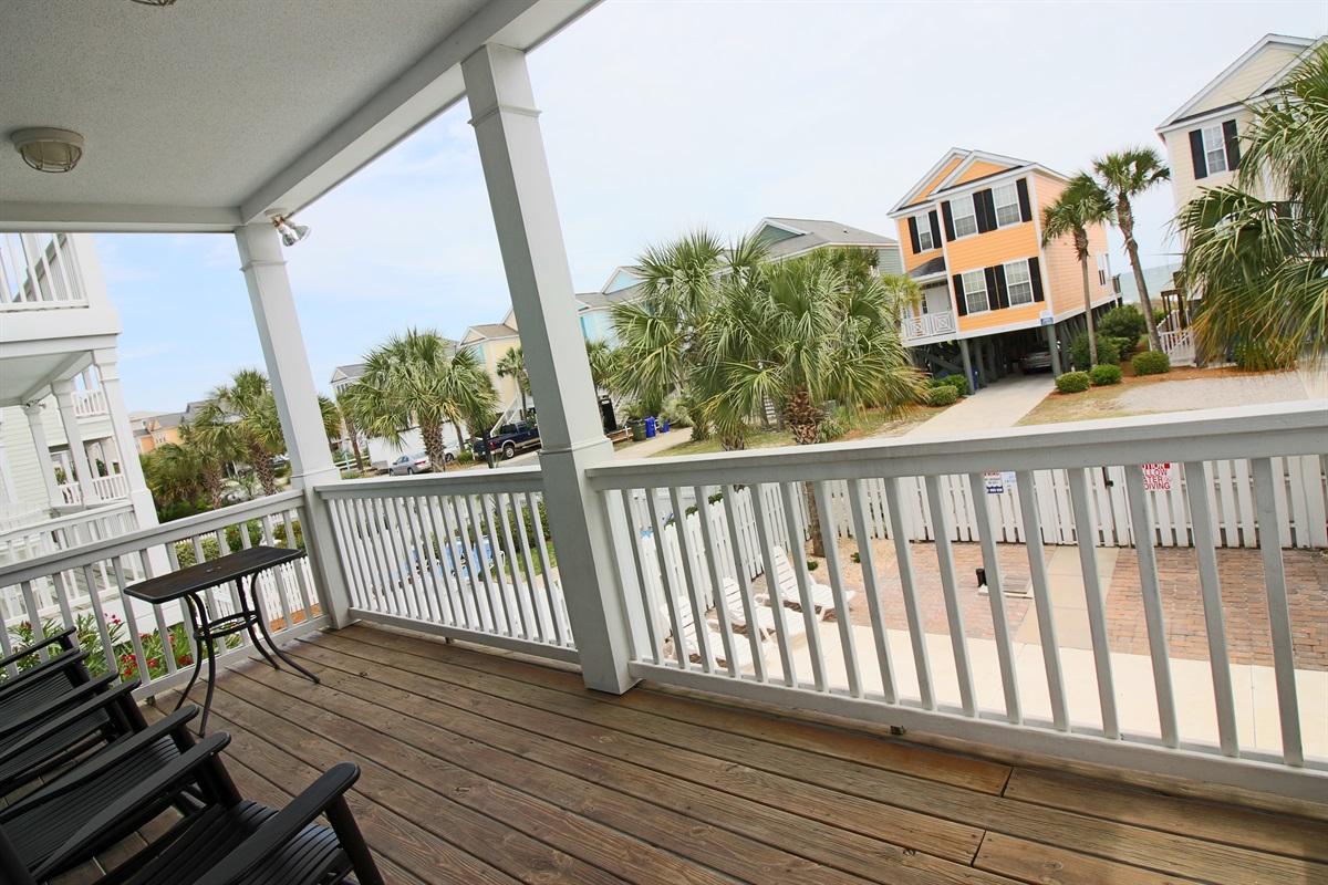 Main level porch
