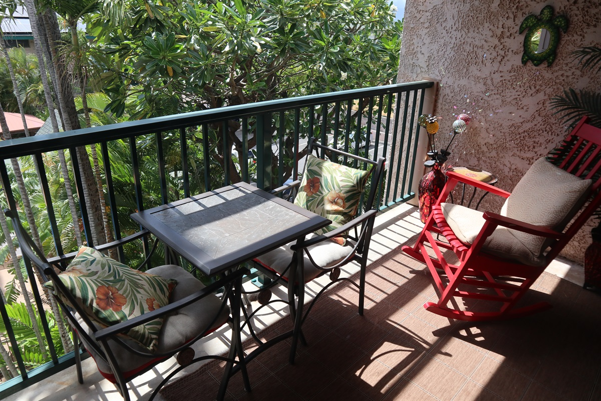 Your own private lanai