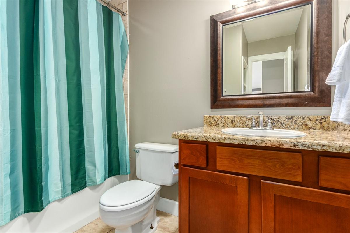 bathroom off main hallway