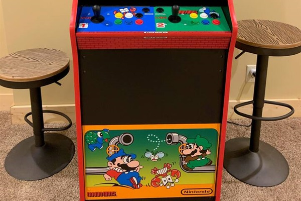 Full size Arcade Game with 2600 games
