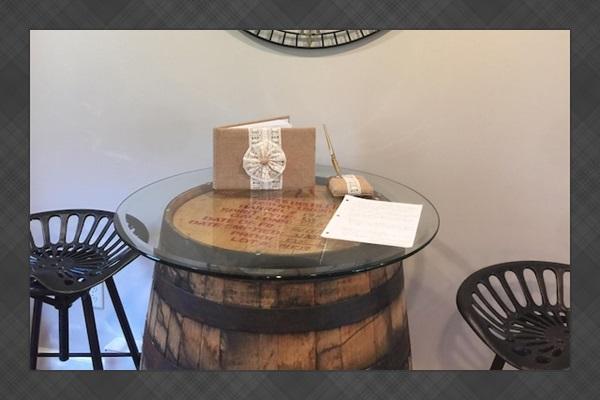 Wine barrel theme