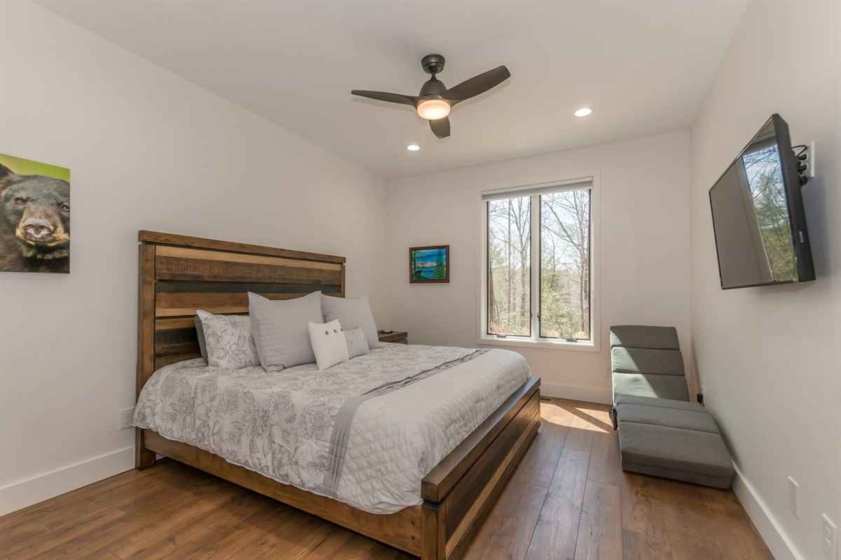 Guest King Bedroom with Massage Chair