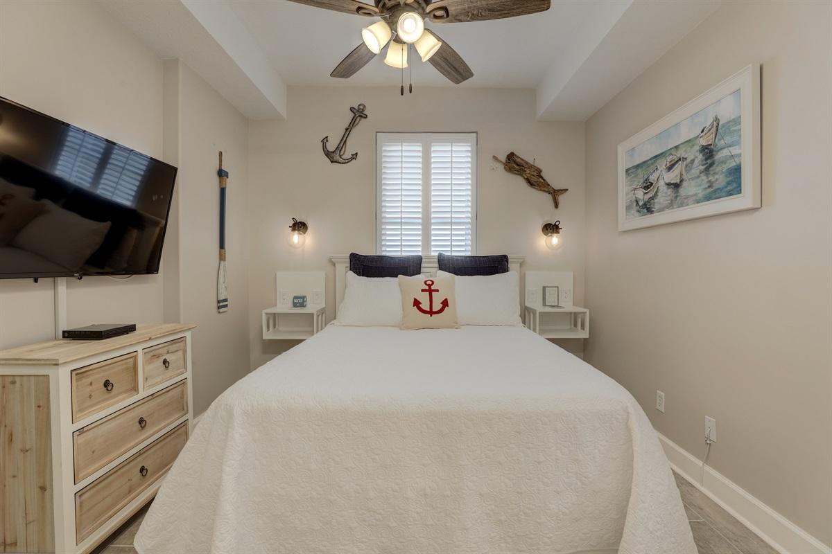 Smart T.V. In Bedroom
