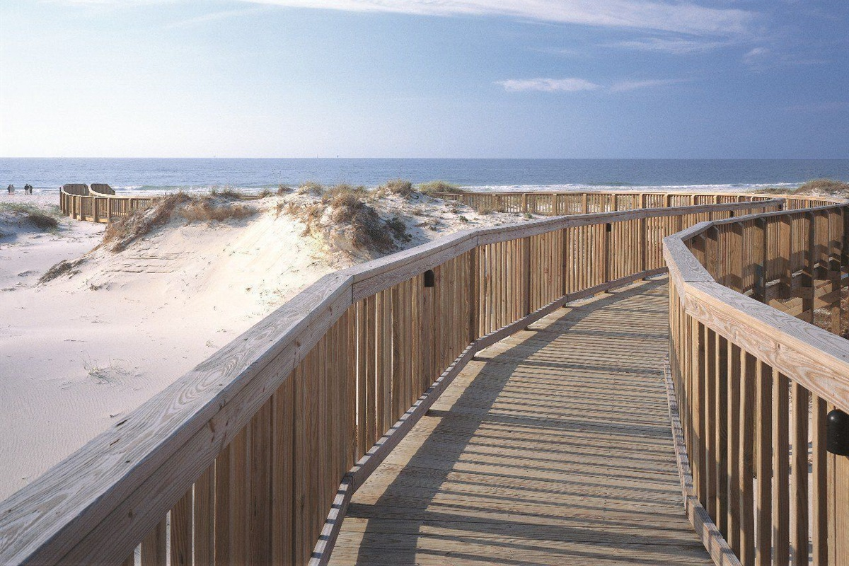 Boardwalk to paradise!