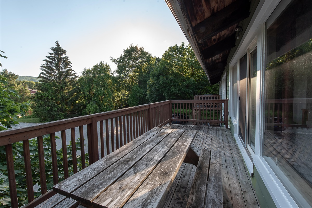 """""""Deer"""" - Oversize balcony with a view of Blue Mountain"""