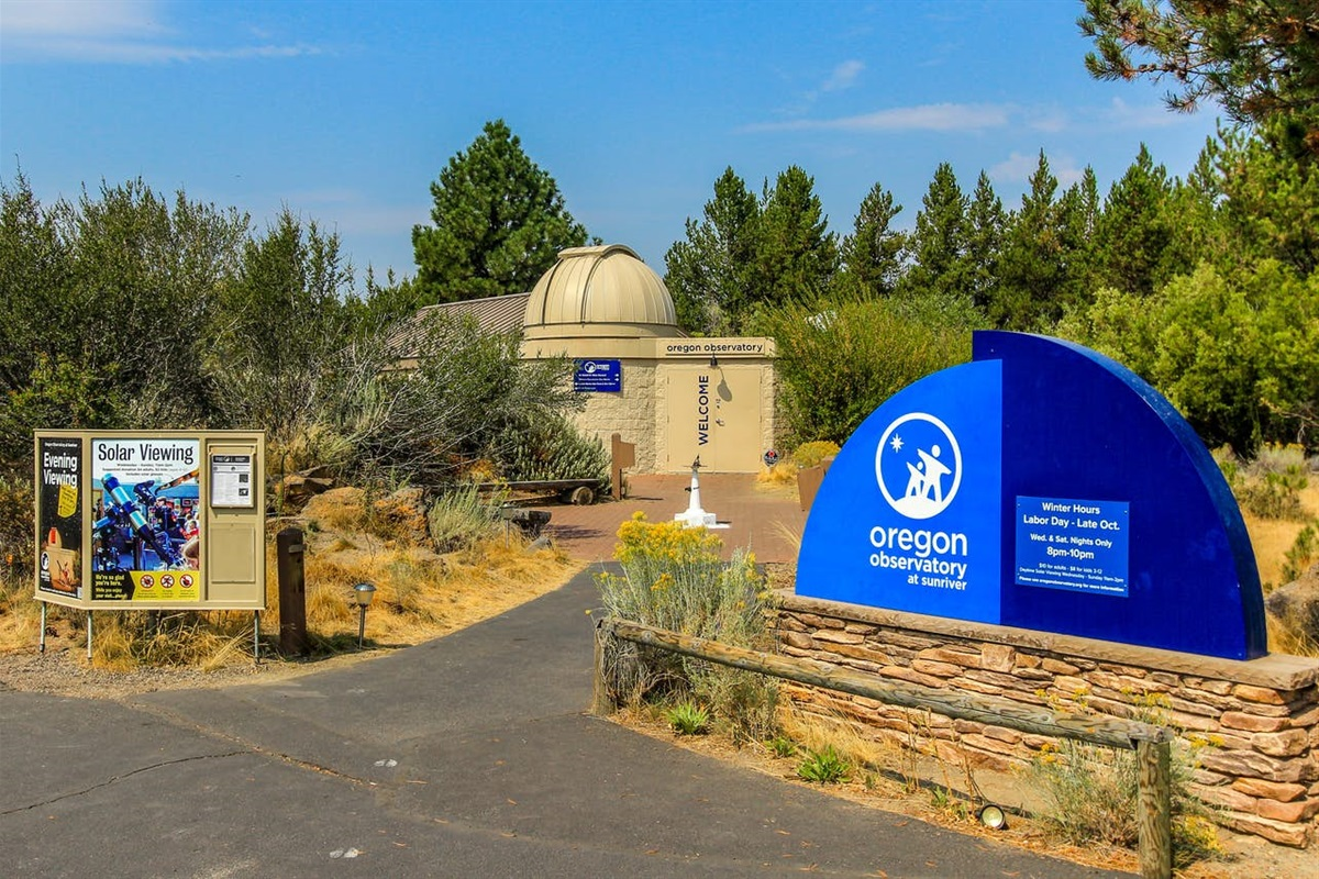 Sunriver Observatory- must do experience!