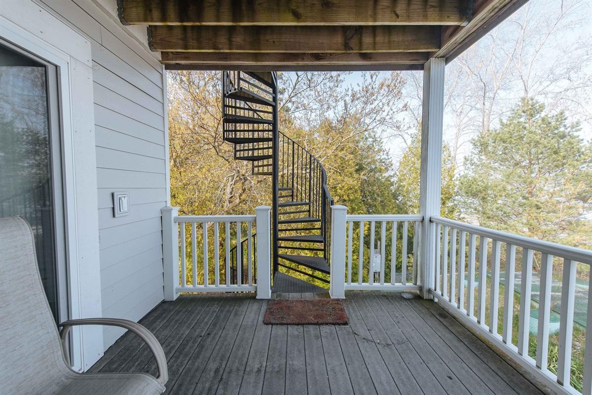 Spiral Staircase Access