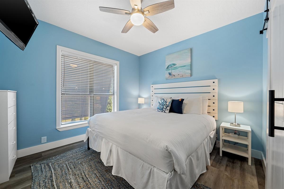 2nd Floor King Bedroom Right