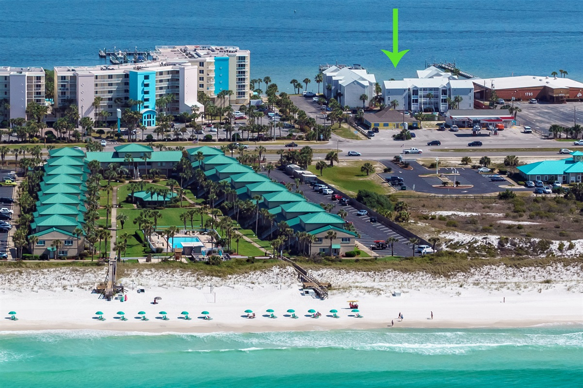 Aerial View of Islander located at Hermitage by the Bay Condominium