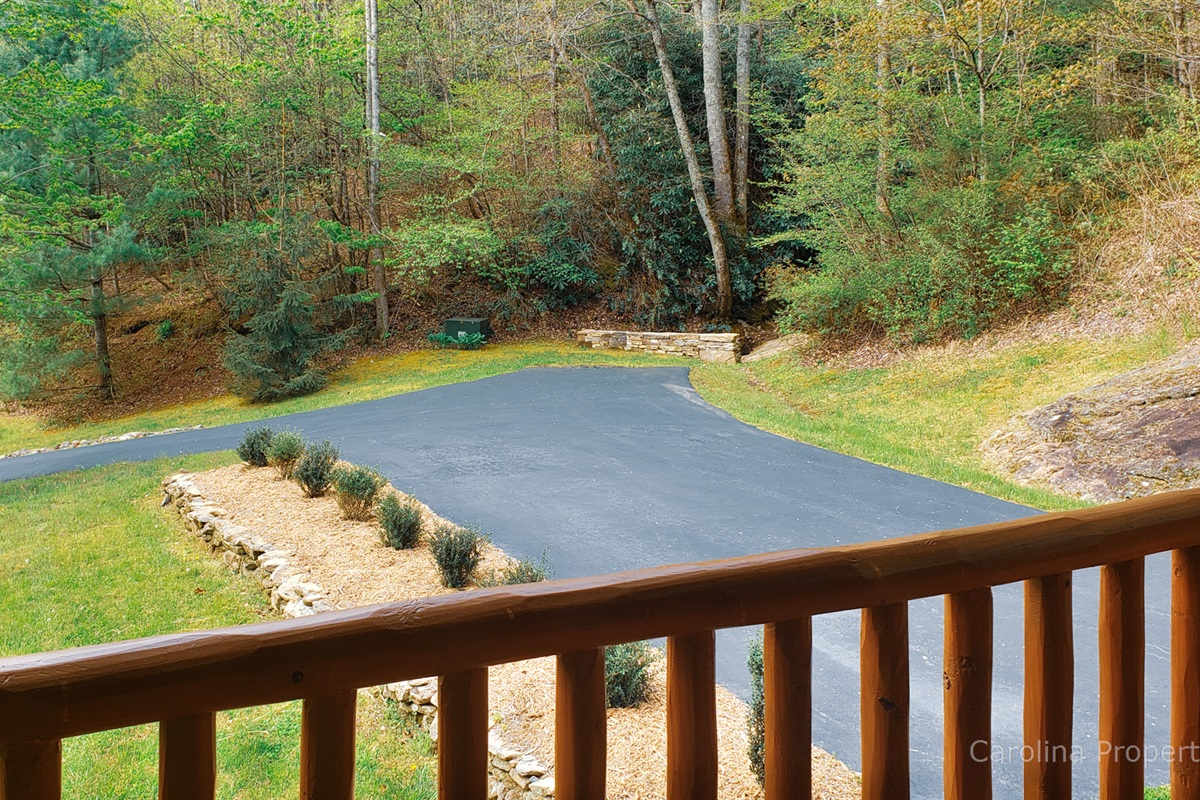 Easy paved access