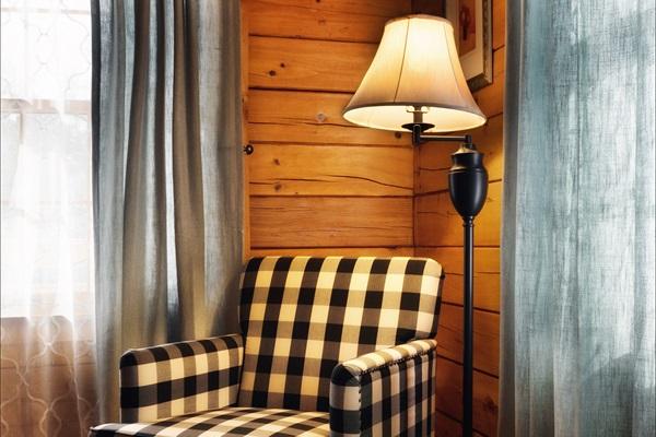First floor bedroom reading nook