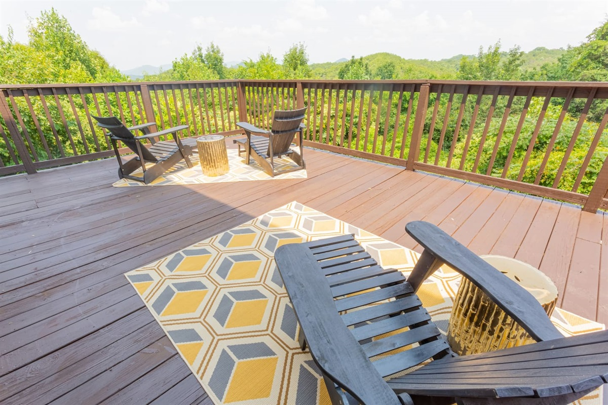 Back deck relax space