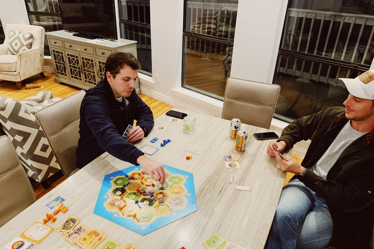 Slow down with a few board games. @ericaexploresamerica