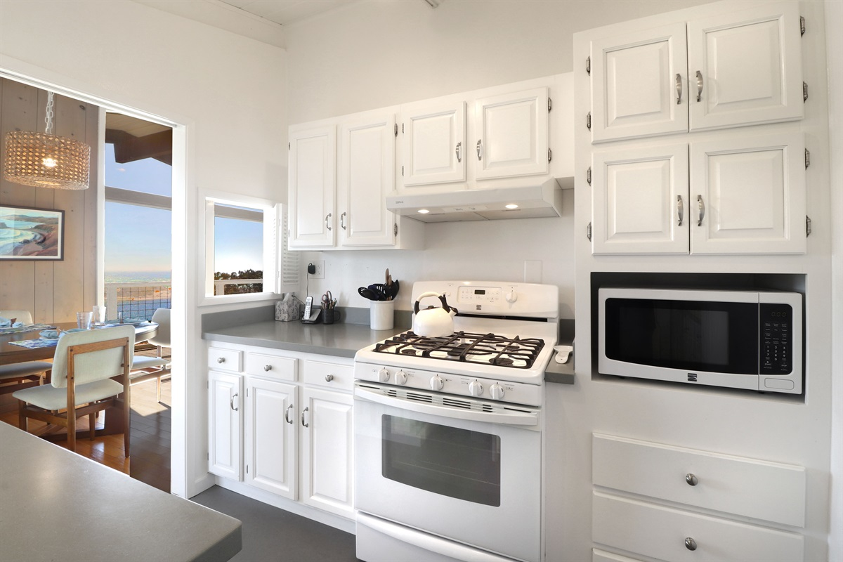 River Seascape Kitchen to Dining