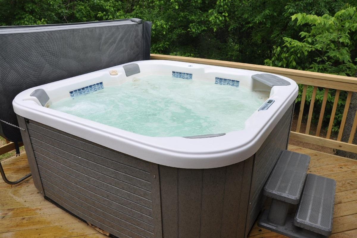 Full-size hot tub
