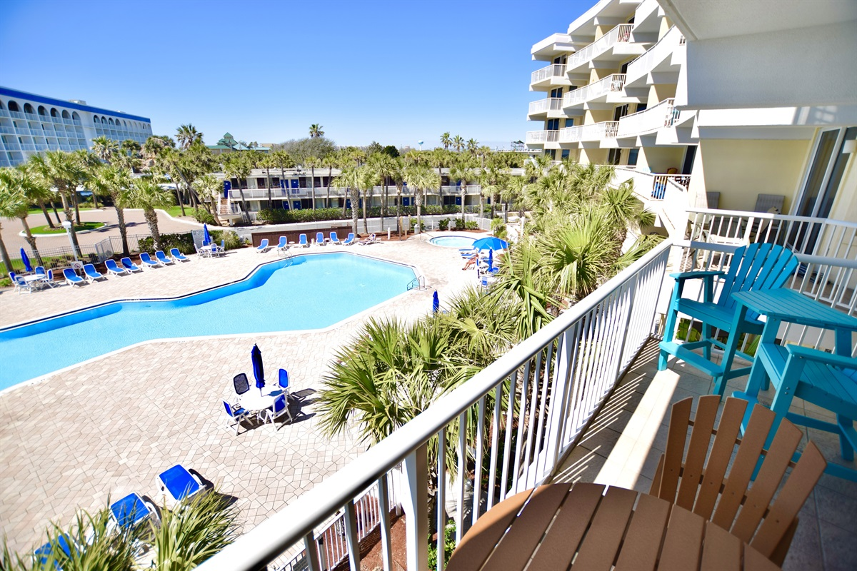 Destin West Gulfside #309 - Balcony View