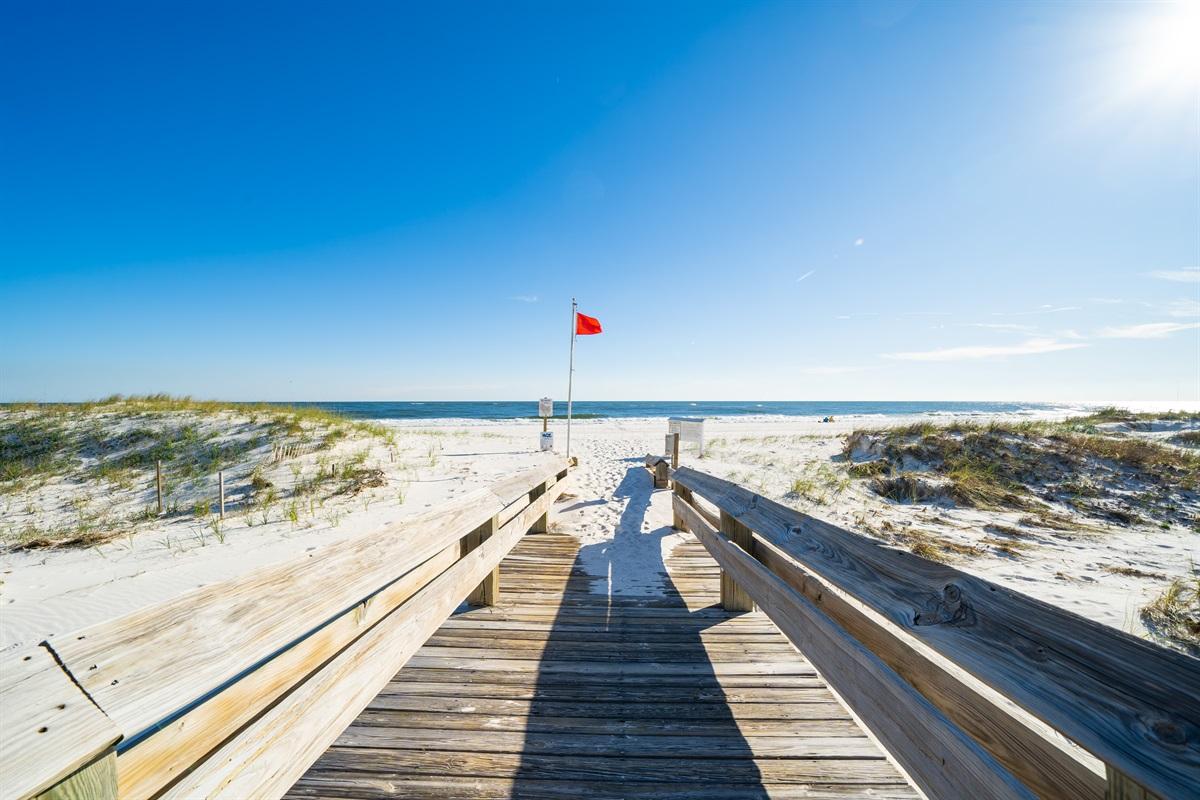 Boardwalk to the BEACH!!