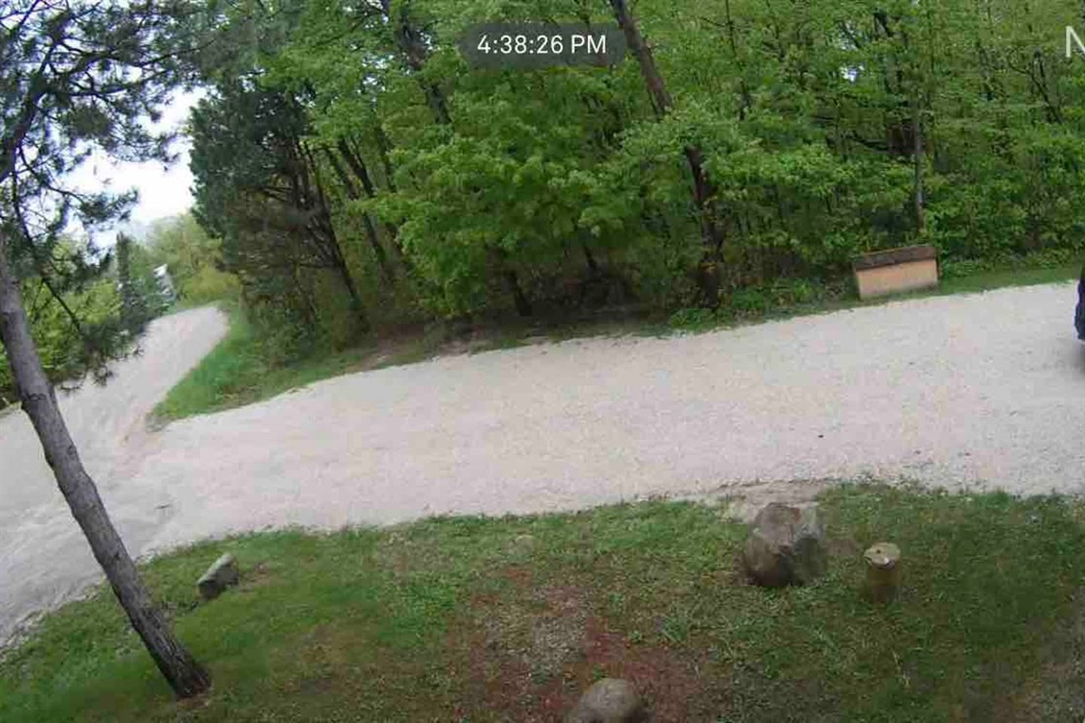 Security/weather camera capturing the drive way and cul-de-sac