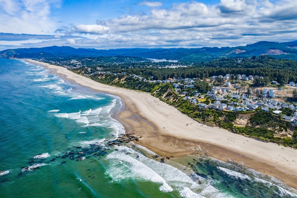 Enjoy the heart of the Oregon Coast at Olivia Beach.