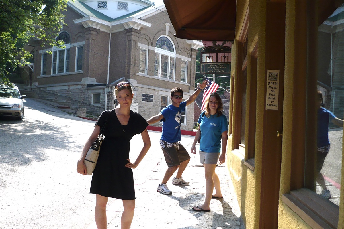 Shop around Eureka Springs for the day!