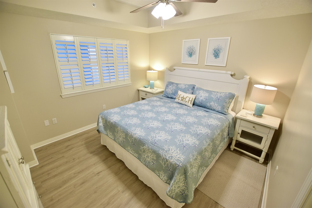 Destin West Gulfside #309 - Master bedroom