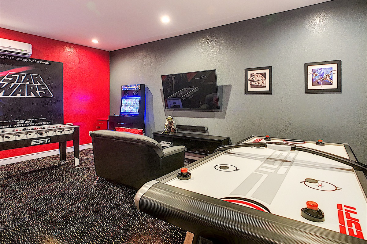 Air Conditioned Game Room