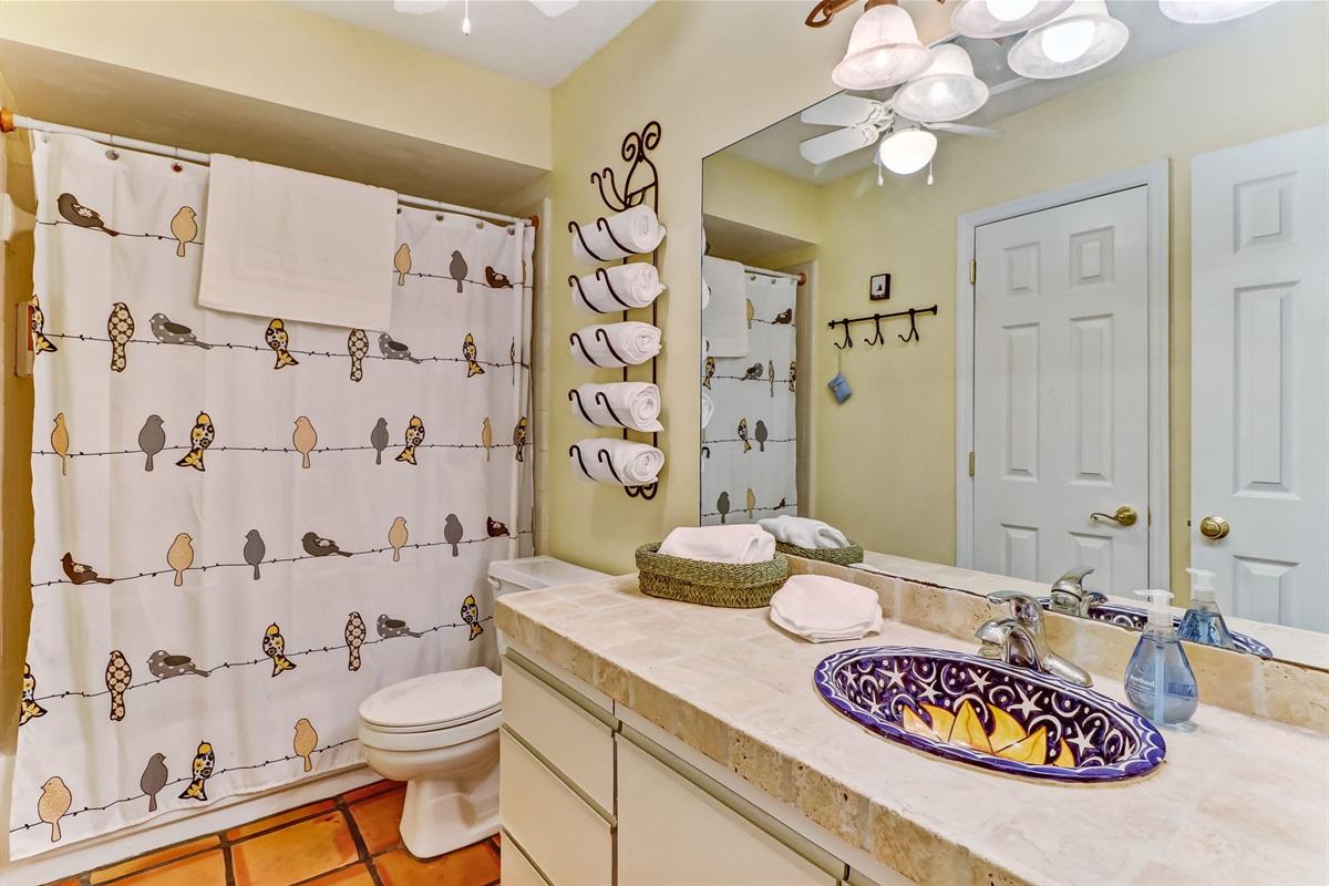 Nice Size Bathroom Upstairs