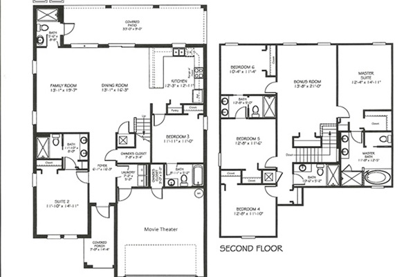 Floor Plan-Following Bedrooms Are Labeled Per This Plan