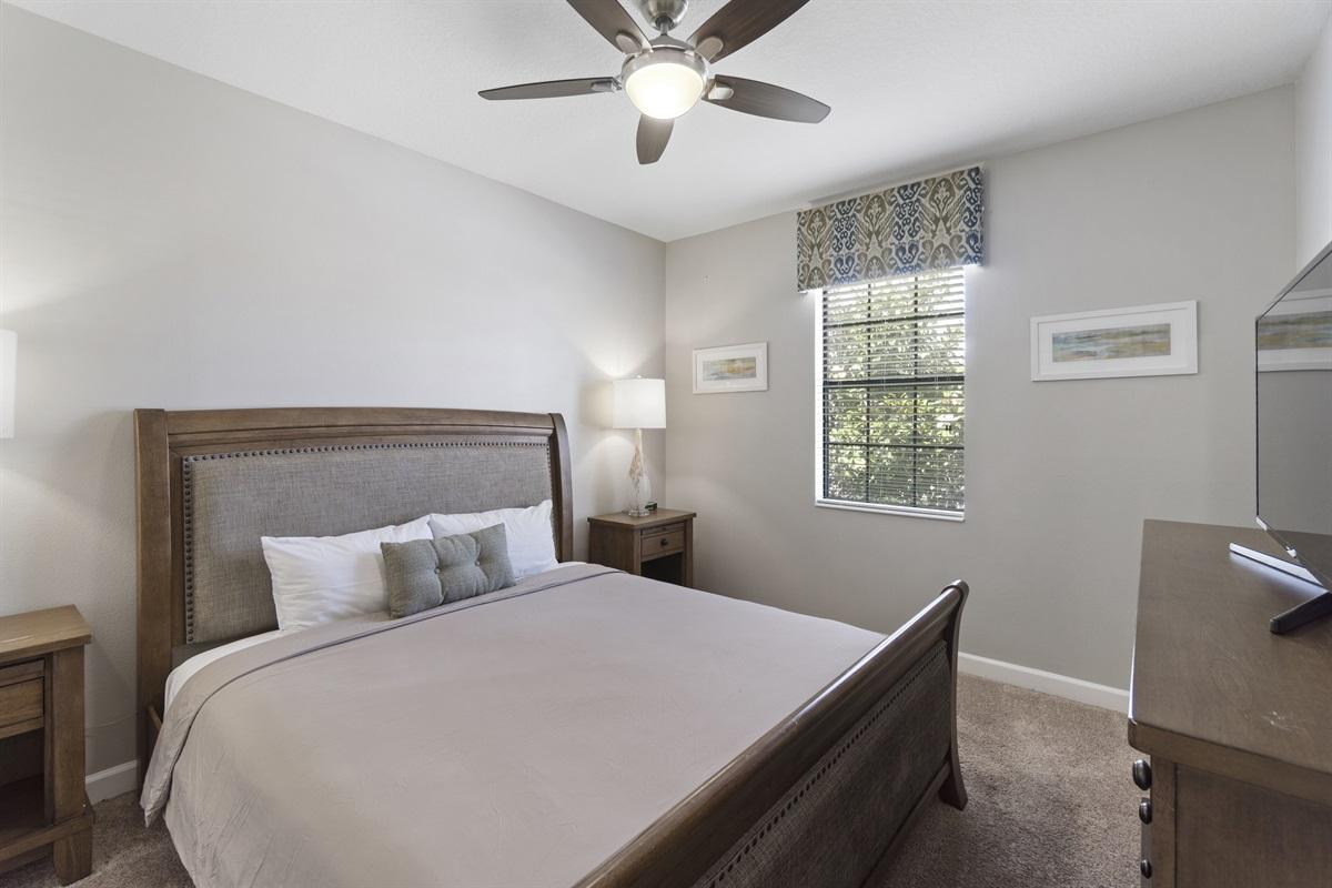 Bright Main Floor Bedroom - No Steps