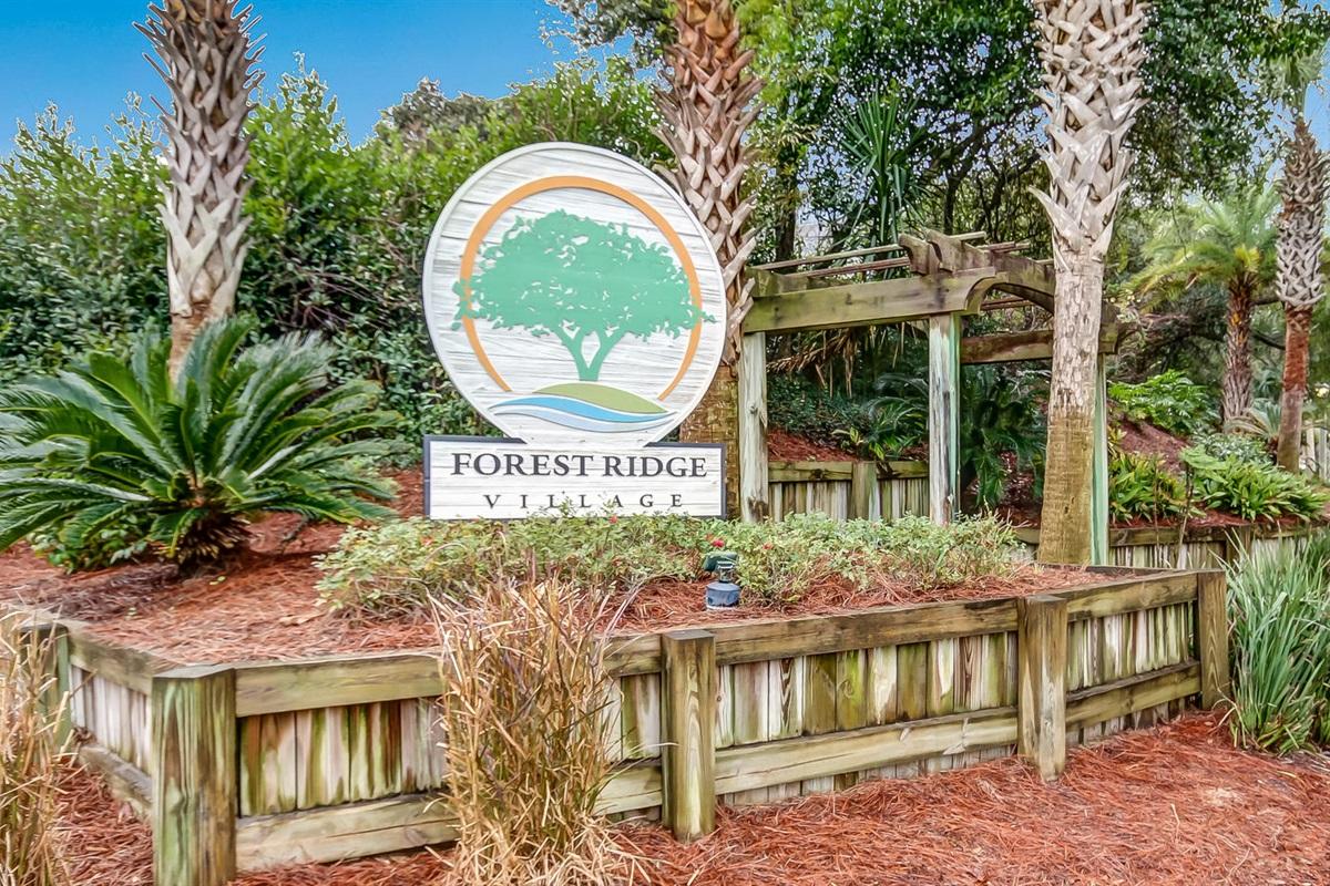 Welcome!  Forest Ridge Village