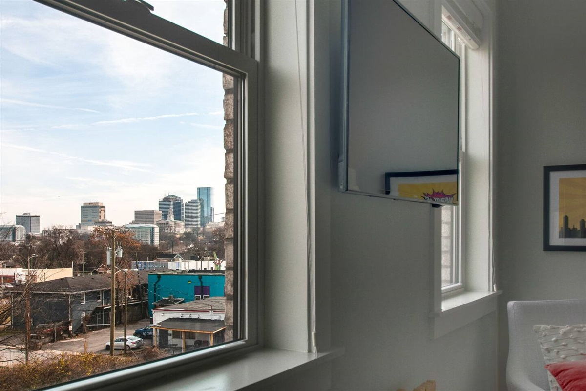 3rd floor views of downtown