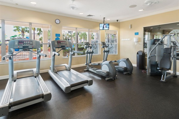 Fitness Center! Have a refreshing workout!