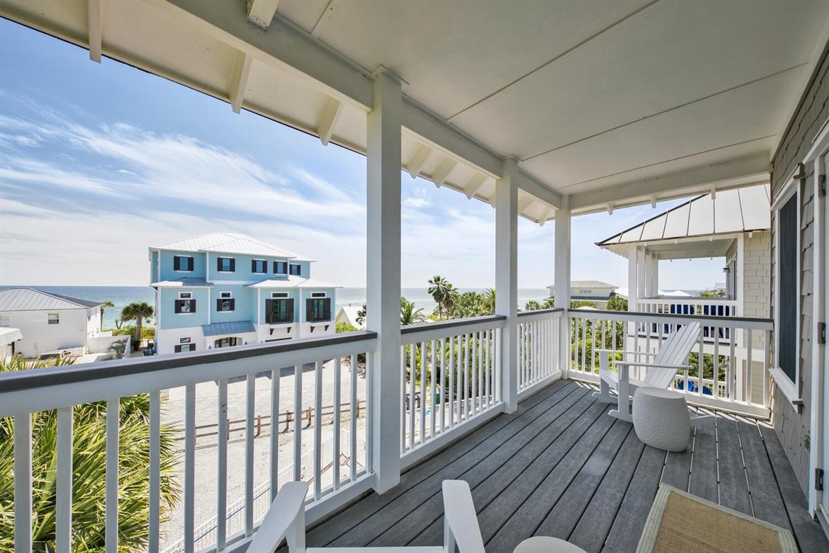 Third Floor - Balcony