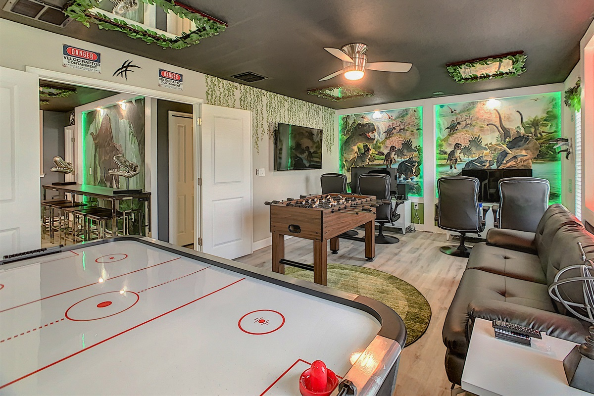 Adult & Kids Game Rooms