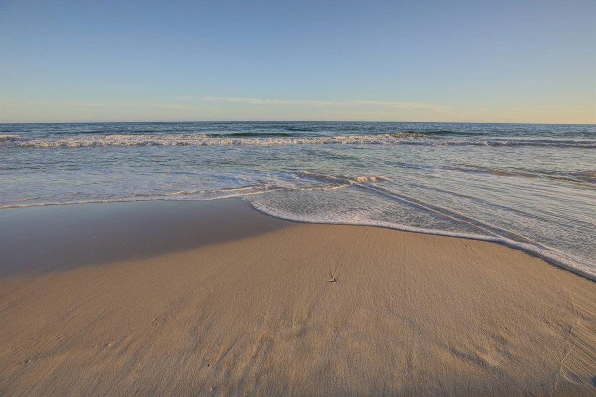 Great walking beach
