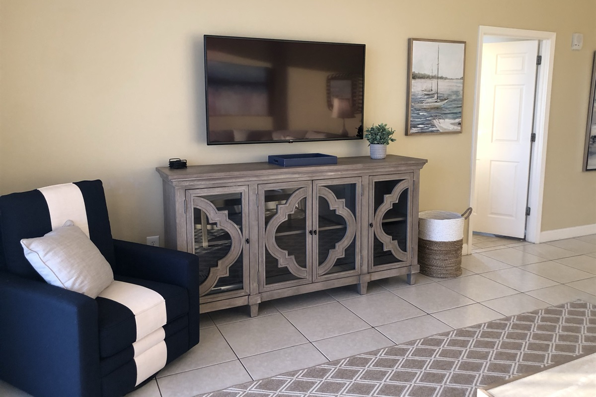 "Living Room New LG 55"" TV"